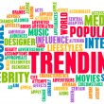 Trending — Stock Photo