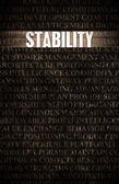 Stability — Stock Photo
