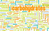 Carbohydrates Weight Loss — Stock Photo