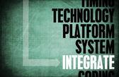 Integrate — Stock Photo