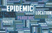 Epidemia — Foto de Stock