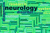 Especialidade de neurologia ou neurologista área médica como arte — Foto Stock