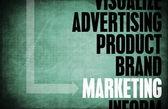 De marketing — Foto Stock
