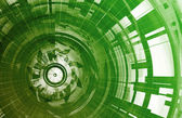 Rede de tecnologia — Foto Stock