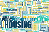 Housing background — Stock Photo