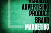 Marketing Core Principles — Stock Photo