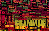 Grammar Concept — Stock Photo