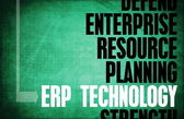 ERP Technology — Stock Photo