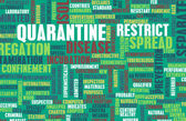 Quarantine and Prevention — Stock Photo