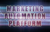 Marketing Automation Platform — Stock Photo