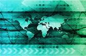 未来的なデジタル ネットワーク — ストック写真
