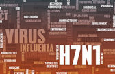 H7N1 Concept — Stock Photo