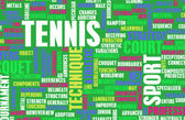 Tennis as a Sport Concept — Stock Photo