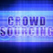 Crowd Sourcing Technology Art — Stock Photo #49782549