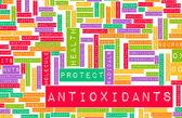 Antioxidants Concept — Stock Photo
