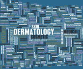 Dermatology Medical Study — Foto Stock