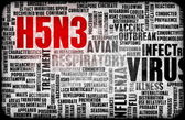 H5N3 Medical Research background — Stock Photo