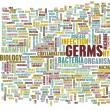 Germs and Hygiene Infection — Stock Photo