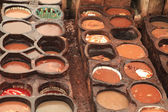Morocco Tannery — Stock Photo