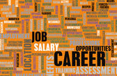 Career Word Cloud — Stock Photo