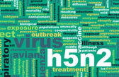 H5N2 Concept — Stock Photo