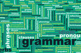 Grammar Learning Concept — Stock Photo