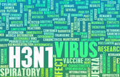 H3N1 Concept — Stock Photo