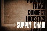Supply Chain — 图库照片