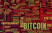 Bitcoin or Bitcoins — Stock Photo