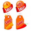 Sale banners set — Stock Vector