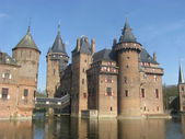 Medieval Dutch castle — 图库照片