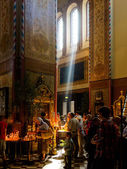 Pentecost in the Alexander Nevsky Cathedral — Foto Stock
