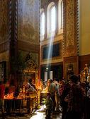 Pentecostes na catedral de alexandre nevsky — Foto Stock