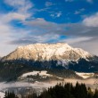 Winter landscape in the Schladming Dachstein region - Austria   — Stock Photo