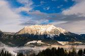 Winter landscape in the Schladming Dachstein region - Austria — Stock Photo