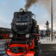 Old Fashion Steam Train — 图库照片