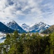 Mountain view from Achensee — Stock Photo #42067569
