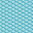 Seamless pattern blue background. Surface with 3-D effect cubes in perspective. Old retro wallpaper with repetition geometric shape. — Imagen vectorial