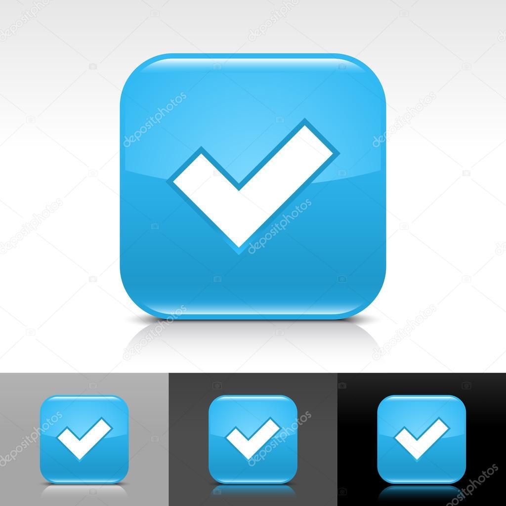 Blue Checkmark Twitter Background