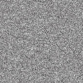 Seamless texture with noise effect television grainy for background. Black and white template size square format. . TV screen no signal. This image is a bitmap copy my vector illustration — Stock Vector