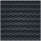 Subtle pattern black background seamless texture perforated metal surface with double circular holes. This image is a bitmap copy my vector illustration — Stock Vector