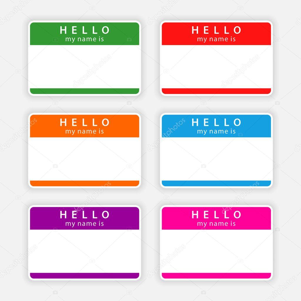 Name Tag Label TemplateMadison Avenue Name Tag Label Label – Name Labels Templates Free