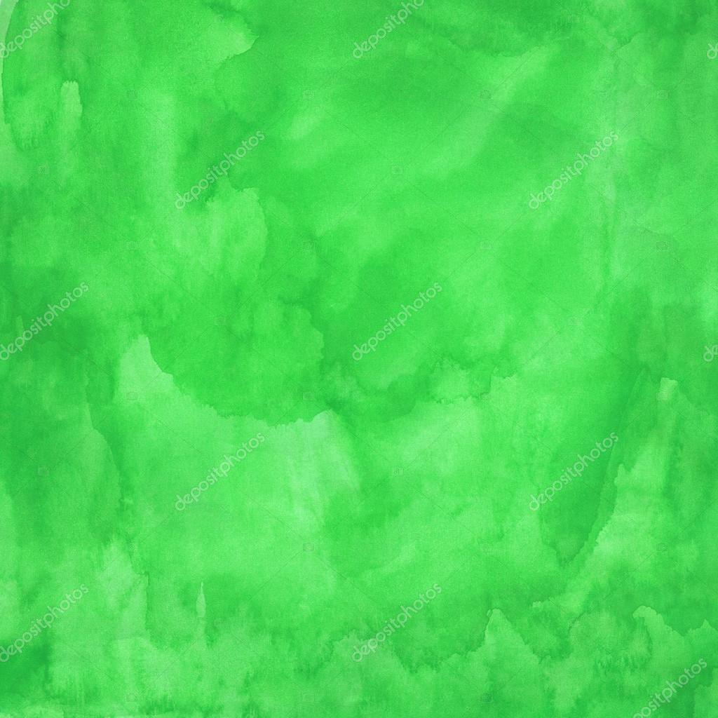 Wall Textures Textura Acuarela Verde Foto De Stock 24188101