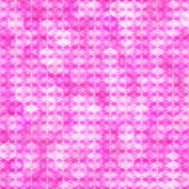 Purple seamless pattern with hexagon shapes — Stock Vector