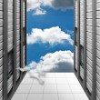 Cloud Computing - Datacenter - Stock Photo