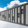 Cloud Computing - Datacenter 2 — Stock Photo #23710543