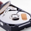 Sick Hard Disk needs a Doctor — Stock Photo