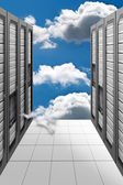 Cloud Computing - Datacenter — Stock Photo
