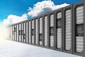 Cloud Computing - Datacenter 2 — Stock Photo