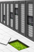 Green Datacenter — Stock Photo